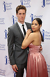 Eva Noblezada and boyfriend attends the 73rd Annual Theatre World Awards at The Imperial Theatre on June 5, 2017 in New York City.