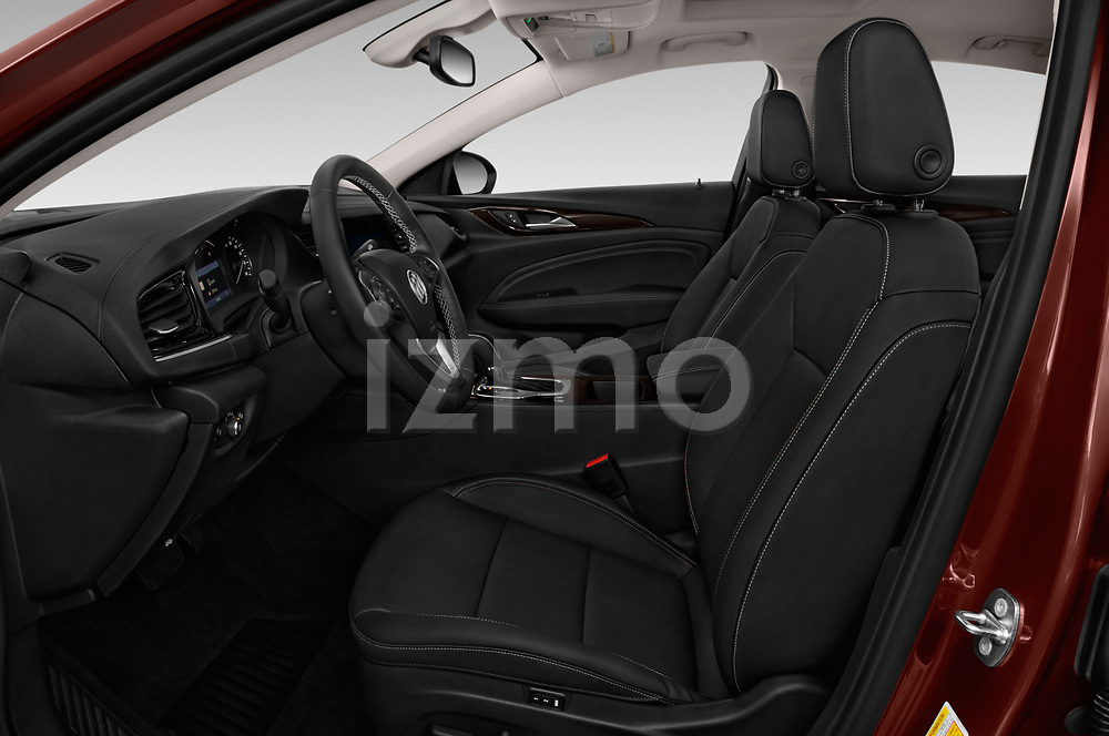 Front seat view of a 2019 Buick Regal-Sportback Essence 5 Door Hatchback front seat car photos