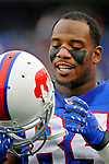 9 December 2007: Buffalo Bills tight end Robert Royal warms up prior to the start of play against the Miami Dolphins at Ralph Wilson Stadium in Orchard Park, NY. Royal scored two touchdowns as the Bills defeated the Dolphins 38-17. ..Mandatory Photo Credit: Ed Wolfstein Photo