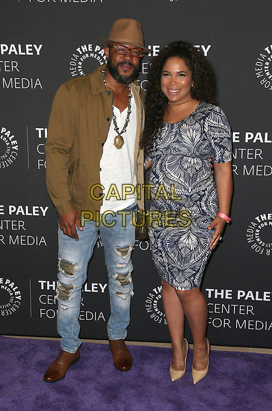 29 March 2017 - Beverly Hills, California - Rockmond Dunbar, Maya Gilbert. 2017 PaleyLive LA Spring Season - &quot;Prison Break&quot; Screening And Conversation held at The Paley Center for Media.    <br /> CAP/ADM/FS<br /> &copy;FS/ADM/Capital Pictures