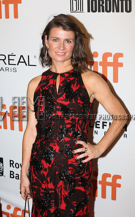 Carrie Lazar attends 'The Magnificent Seven' Red Carpet Gala Opening Night of the 2016 Toronto International Film Festival at TIFF Bell Lightbox on September 8, 2016 in Toronto, Canada.
