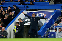 Chelsea Manager, Maurizio Sarri during Chelsea vs Manchester United, Emirates FA Cup Football at Stamford Bridge on 18th February 2019