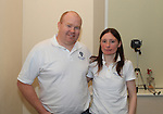 Ben and Maria Nulty of the Boyne Paranormal Society..Picture: Shane Maguire / www.newsfile.ie.