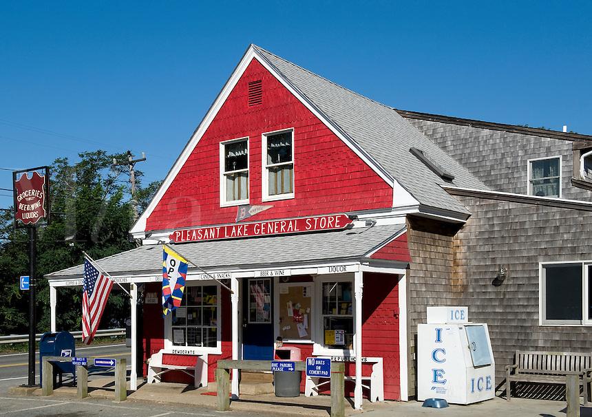 Pleasant Lake General Store, located along the Cape Cod bike trail, MA