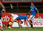 Fabio Cardoso fouls Miles Storey for a free-kick