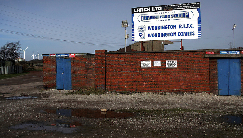 Photo: Paul Thomas..20/02/2007..Workington Rugby League Club..General view.