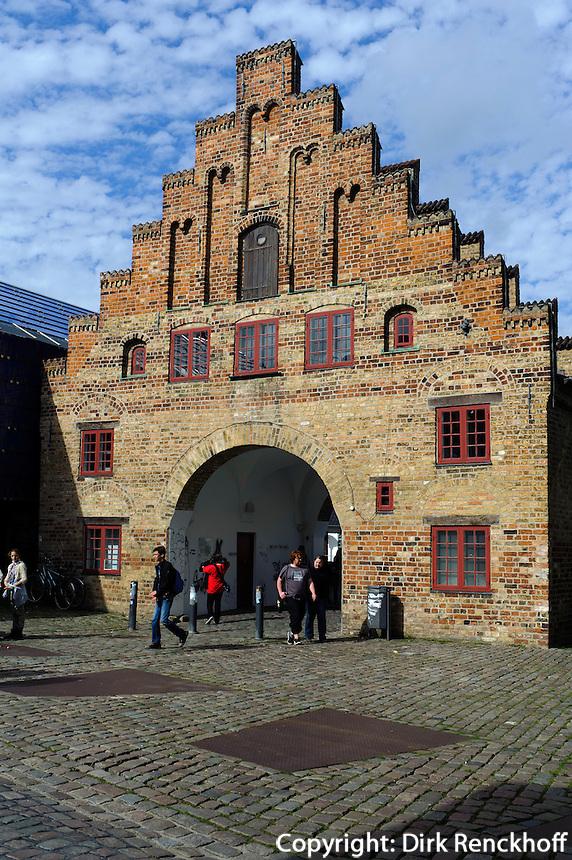Nordertor in Flensburg, Schleswig-Holstein, Deutschland