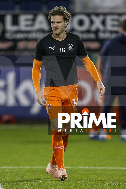 Glen Rea of Luton Town warms up ahead of the Sky Bet League 1 match between Luton Town and Bradford City at Kenilworth Road, Luton, England on 27 November 2018. Photo by David Horn.