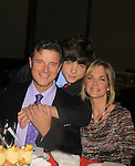"General Hospital Kassie DePaiva ""Blair"", husband One Life To Live James DePaiva ""Max"" and son All My Children JQ DePaiva attend the 19th Annual Feast benefitting the Center for Hearing and Communication - Connect to Life on October 22, 2012 at Chelsea Pier 60, New York City, New York.  (Photo by Sue Coflin/Max Photos)"