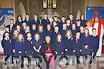 Faha NS Pupils from Nagle/Rice NS Milltown who was confirmed in the Secret Heart church Milltown on Tuesday with Bishop Bill Murphy, Fr Pat O'Donnell and teachers Jerry Fitzgerald and Kathleen McAulliffe