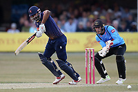 Varun Chopra in batting action for Essex during Essex Eagles vs Sussex Sharks, Vitality Blast T20 Cricket at The Cloudfm County Ground on 4th July 2018