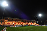 Picture by Anna Gowthorpe/SWpix.com - 02/02/2018 - Rugby League - Betfred Super League - Hull KR v Wakefield Trinity - KC Lightstream Stadium, Hull, England - A general view of the pitch before kick off