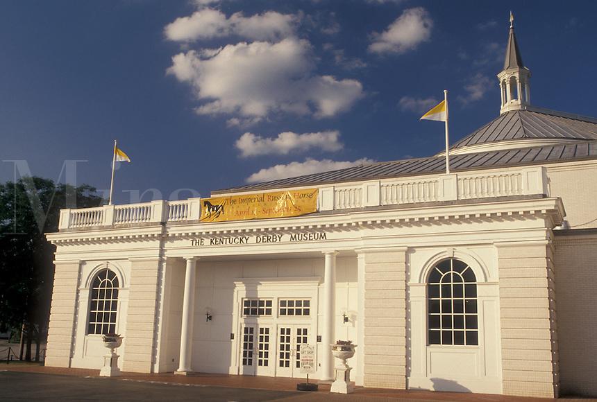 Kentucky Derby, Louisville, KY, Kentucky, The Kentucky Derby Museum at Churchill Downs in Louisville.
