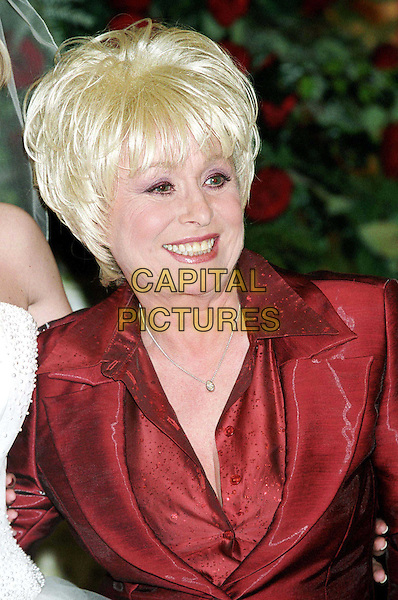 BARBARA WINDSOR ..Wedding of Daniella Westbrook & Kevin Jenkins at Conran Hotel ..half length, half-length..www.capitalpictures.com..sales@capitalpictures.com..©Capital Pictures..