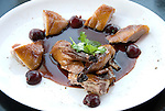 Minnesota, Twin Cities, Minneapolis-Saint Paul:  Roast Duck entree at Wolfgang Puck's restaurant 20-21 at the Walker Art Center, Minneapolis..Photo mnqual224-75258..Photo copyright Lee Foster, www.fostertravel.com, 510-549-2202, lee@fostertravel.com.