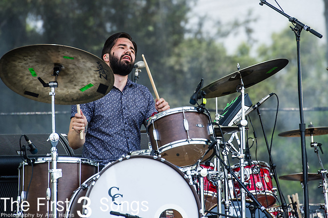 Ryan Luciani of Empires performs at the 2nd Annual BottleRock Napa Festival at Napa Valley Expo in Napa, California.