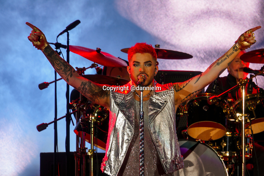 Queen + Adam Lambert Hollywood Bowl Tuesday June 27, 2017