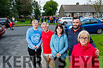 Connolly Park residents pictured at the proposed entrance of the new housing estate om Wednesday, from left: John McCormac, Sean O'Connor, Marian Clifford, Phillip Moriarty and EIleen McCord