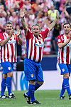 Marcelino Ugarte during the last match to be played by Atletico de Madrid at Vicente Calderon Stadium in Madrid, May 28, 2017. Spain.. (ALTERPHOTOS/Rodrigo Jimenez)