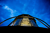 Light first shown from the top of the current Pensacola Lighthouse on New Years Day 1859.<br /> COLIN HACKLEY PHOTO