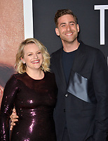 """LOS ANGELES, CA: 24, 2020: Elisabeth Moss & Oliver Jackson-Cohen at the premiere of """"The Invisible Man"""" at the TCL Chinese Theatre.<br /> Picture: Paul Smith/Featureflash"""