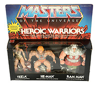 BNPS.co.uk (01202 558833)<br /> Pic: Vectis/BNPS<br /> <br /> PICTURED: He-Man Masters of the Universe Heroic Warriors 3-pack sold for a stunning  £12,000.<br /> <br /> One man's epic collection of retro eighties' toys has been sold for £220,000 by his family following his death.<br /> <br /> Dr Cornel Flemming amassed more than 1,600 toy action figures and cars for franchises like Star Wars, He-Man and Transformers. <br /> <br /> The market for nostalgic toys is booming at the moment which is reflected in the prices some of the toys achieved.<br /> <br /> An unopened pack of three He-Man figures featuring He-Man, Teela and Ram Man made by Mettel sold for an incredible £12,000.