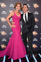 "Dame Darcey Bussell and Bruno Tonioli<br /> at the launch of ""Strictly Come Dancing"" 2018, BBC Broadcasting House, London<br /> <br /> ©Ash Knotek  D3426  27/08/2018"