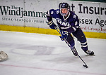 9 February 2019: University of New Hampshire Wildcat Defenseman Max Gildon, a Sophomore from Plano, Texas, in third period action against the University of Vermont Catamounts at Gutterson Fieldhouse in Burlington, Vermont. The Wildcats fell to the Catamounts 4-1 splitting their 2-game Hockey East weekend series. Mandatory Credit: Ed Wolfstein Photo *** RAW (NEF) Image File Available ***