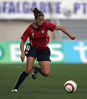 MAR 13, 2006: Faro, Portugal:  Carli Lloyd