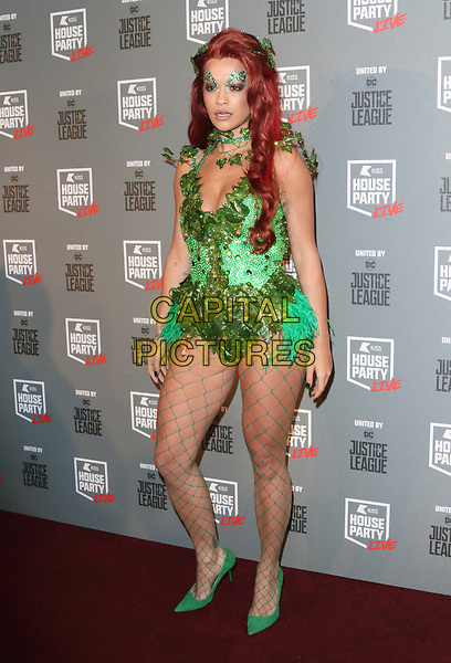 Rita Ora at the KISS House Party at SSE Arena Wembley, London on Thursday 26 October 2017<br /> CAP/ROS<br /> &copy;ROS/Capital Pictures
