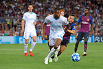 UEFA Champions League 2018/2019 - Matchday 1.<br /> FC Barcelona vs PSV Eindhoven: 4-0.<br /> Denzel Dumfries vs Jordi Alba.