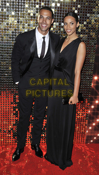 LONDON, ENGLAND - MAY 24: Marvin Humes &amp; Rochelle Humes ( nee Wiseman ) attend the British Soap Awards 2014, Hackney Empire, Mare St., on Saturday May 24, 2014 in London, England, UK.<br /> CAP/CAN<br /> &copy;Can Nguyen/Capital Pictures
