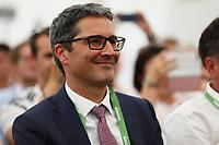 Landeshauptmann Südtirol Arno Kompatscher - 25.05.2018: Pressekonferenz der Deutschen Nationalmannschaft zur WM-Vorbereitung in der Sportzone Rungg in Eppan/Südtirol