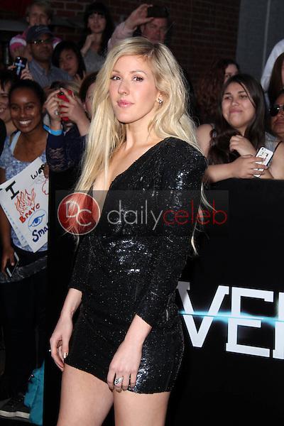 "Ellie Goulding<br /> at the ""Divergent"" Los Angeles Premiere, Regency Bruin Theatre, Westwood, CA 03-18-14<br /> Dave Edwards/DailyCeleb.com 818-249-4998"