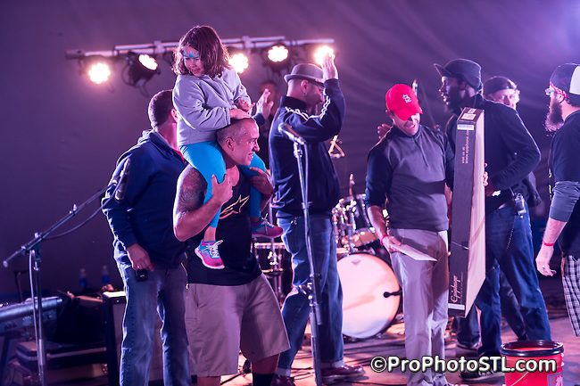 Unifyah performing at St. Louis World Fare in Forest Park in St. Louis on Sept 13, 2014