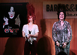 Teal Wicks, Stephanie J. Block during 'The Cher Show' Original Broadway Cast Recording performance and CD signing at Barnes & Noble Upper East Side on May 14, 2019 in New York City.