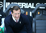 Northampton's Justin Edinburgh looks on during the League One match at the Sixfields Stadium, Northampton. Picture date: April 8th, 2017. Pic David Klein/Sportimage