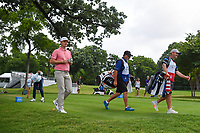 Justin Rose (GBR) heads down 3 during round 4 of the 2019 Charles Schwab Challenge, Colonial Country Club, Ft. Worth, Texas,  USA. 5/26/2019.<br /> Picture: Golffile | Ken Murray<br /> <br /> All photo usage must carry mandatory copyright credit (© Golffile | Ken Murray)