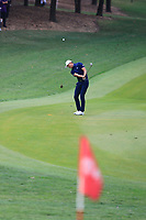 Haotong Li (CHN) on the 8th during the final round of the WGC HSBC Champions, Sheshan Golf Club, Shanghai, China. 03/11/2019.<br /> Picture Fran Caffrey / Golffile.ie<br /> <br /> All photo usage must carry mandatory copyright credit (© Golffile | Fran Caffrey)