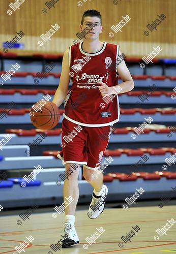 2010-08-28 / Basketbal / seizoen 2010-2011 / BBC Kontich / Pieter Vandervloet..Foto: Mpics