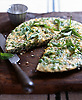 Green Pea & Mint Frittata