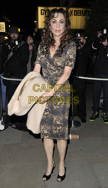 LONDON, ENGLAND - MARCH 10: Marie Helvin attends the Rodial Beautiful Awards 2014, St Martin's Lane Hotel, St Martin's Lane, on Monday March 10, 2014 in London, England, UK.<br /> CAP/CAN<br /> &copy;Can Nguyen/Capital Pictures
