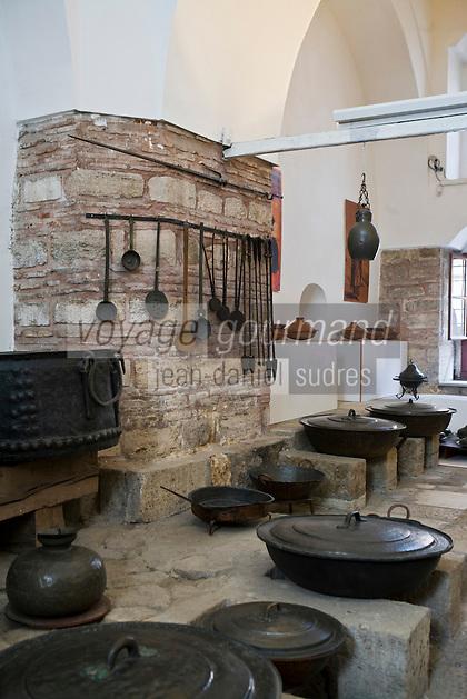 Europe/Turquie/Istanbul :  Cuisines du Palais  de Tokapi