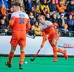 ROTTERDAM - Billy Bakker (NED)   tijdens   de Pro League hockeywedstrijd heren, Nederland-Spanje (4-0) . COPYRIGHT KOEN SUYK