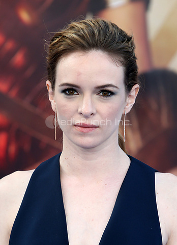 HOLLYWOOD, CA - MAY 25: Danielle Panabaker, at the Wonder Woman Los Angeles Film Premiere at The Pantages in Hollywood, California on May 25, 2017. Credit: Faye Sadou/MediaPunch