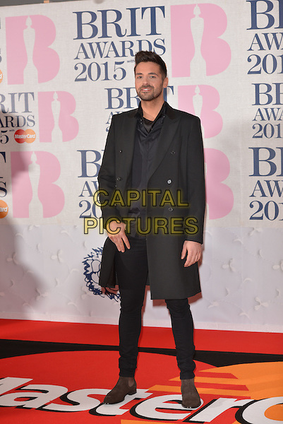 LONDON, ENGLAND - FEBRUARY 25: Ben Haenow attends the BRIT Awards 2015 at The O2 Arena on February 25, 2015 in London, England. <br /> CAP/PL<br /> &copy;Phil Loftus/Capital Pictures