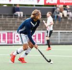 AMSTELVEEN  - Pieter Sutorius van Pinoke   Hoofdklasse hockey dames ,competitie, heren, Amsterdam-Pinoke (3-2)  . COPYRIGHT KOEN SUYK