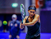 Rotterdam, Netherlands, December 13, 2017, Topsportcentrum, Ned. Loterij NK Tennis, Dainah Cameron (NED)<br /> Photo: Tennisimages/Henk Koster