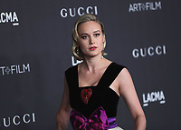LOS ANGELES - NOVEMBER 2:  Brie Larson at the 2019 LACMA Art + Film Gala Presented By Gucci at LACMA on November 2, 2019 in Los Angeles, California. (Photo by PictureGroup)