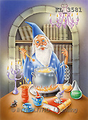 Interlitho, Lorella, REALISTIC ANIMALS, Halloween, paintings, sorcerer, lab, mouse(KL3581,#A#)
